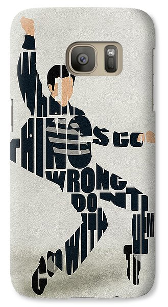 Elvis Presley Galaxy S7 Case by Ayse Deniz