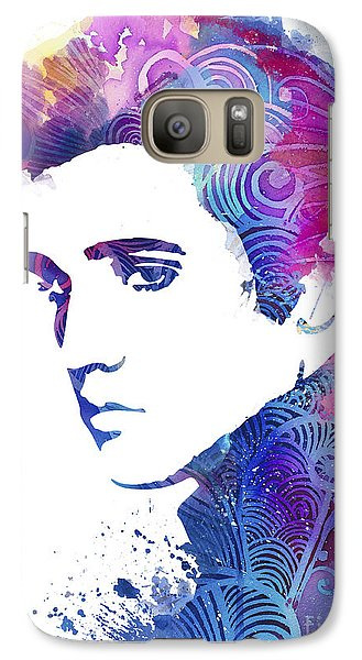 Elvis Presley Galaxy S7 Case by Luke and Slavi
