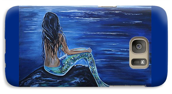 Enchanting Mermaid Galaxy Case by Leslie Allen