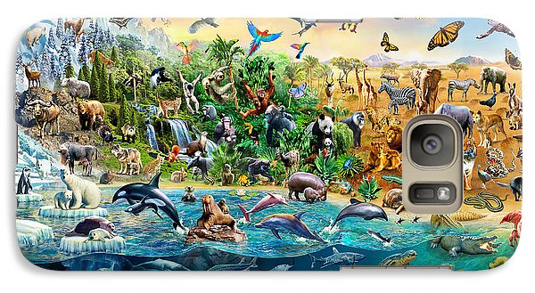Endangered Species Galaxy S7 Case by Adrian Chesterman