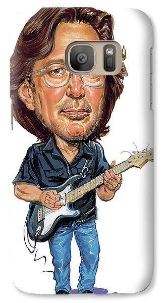 Eric Clapton Galaxy S7 Case by Art
