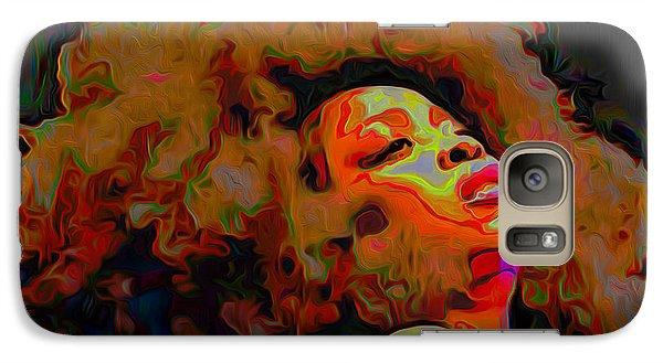 Erykah Badu Galaxy S7 Case by  Fli Art
