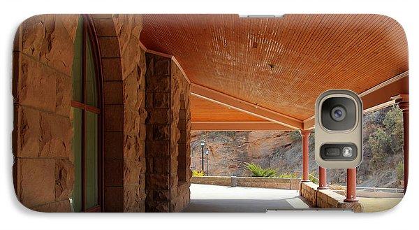 Galaxy Case featuring the photograph Evans Porch by Bill Gabbert