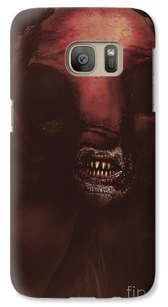 Evil Greek Mythology Minotaur Galaxy S7 Case by Jorgo Photography - Wall Art Gallery