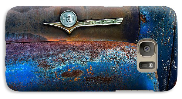 F-100 Ford Galaxy S7 Case by Debra and Dave Vanderlaan