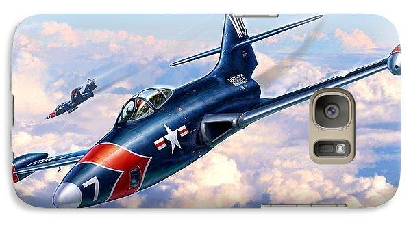 F9f-5p Photo Panthers Galaxy Case by Stu Shepherd