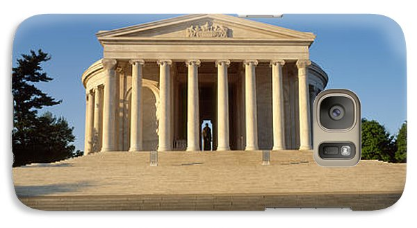 Facade Of A Memorial, Jefferson Galaxy S7 Case by Panoramic Images