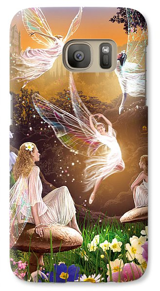 Fairy Ballet Galaxy Case by Garry Walton