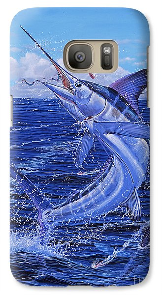 Flat Line Off0077 Galaxy S7 Case by Carey Chen
