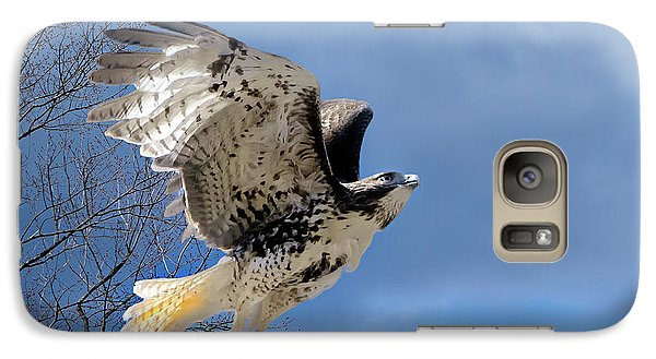 Flight Of The Red Tail Galaxy S7 Case by Bill Wakeley