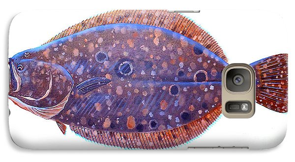 Flounder Galaxy S7 Case by Carey Chen