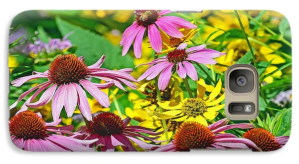 Galaxy Case featuring the photograph Flowering Meadow by Rodney Campbell