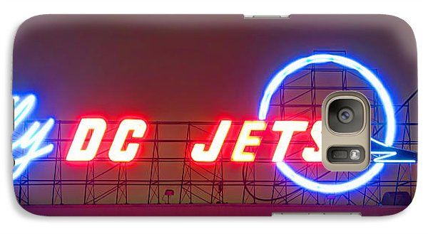 Fly Dc Jets Galaxy S7 Case by Heidi Smith