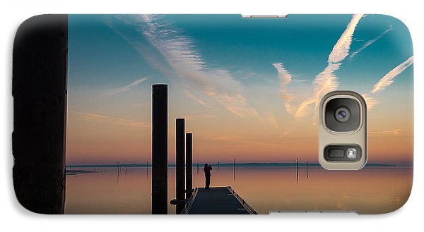 Galaxy Case featuring the photograph Follow Me by Thierry Bouriat
