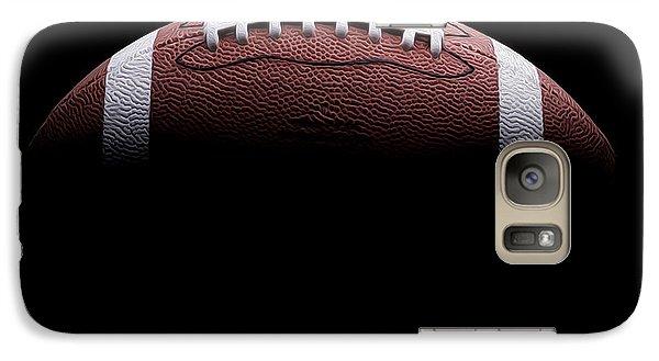 Football Painting Galaxy S7 Case by Jon Neidert