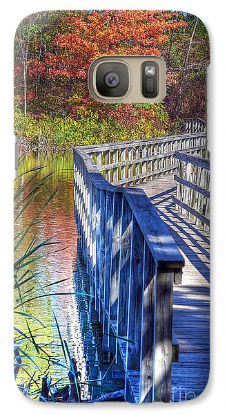 Galaxy Case featuring the photograph Footbridge  by Rodney Campbell