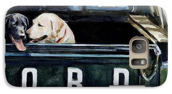 For Our Retriever Dogs Galaxy S7 Case by Molly Poole