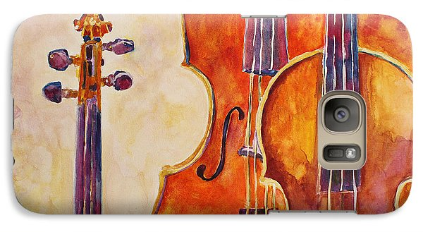 Four Violins Galaxy Case by Jenny Armitage