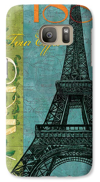 Francaise 1 Galaxy S7 Case by Debbie DeWitt