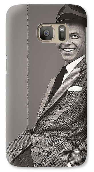 Frank Sinatra Galaxy S7 Case by Daniel Hagerman