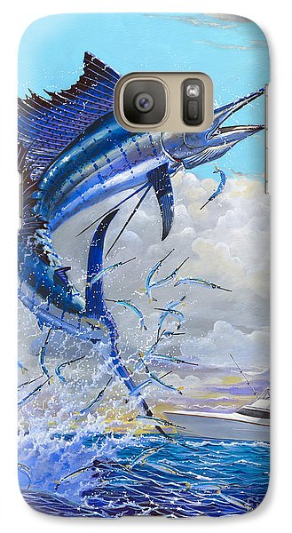 Free Jumper Off00152 Galaxy S7 Case by Carey Chen