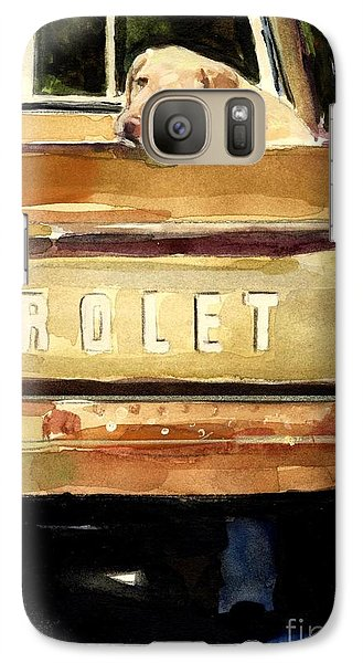 Free Ride Galaxy S7 Case by Molly Poole