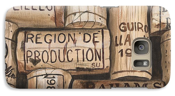 French Corks Galaxy Case by Debbie DeWitt