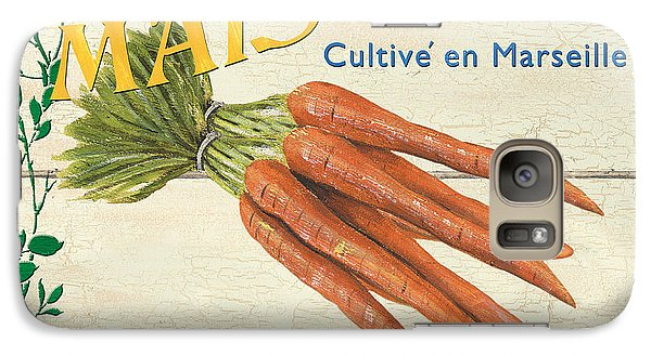 French Veggie Sign 2 Galaxy S7 Case by Debbie DeWitt