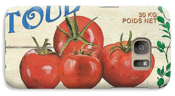 French Veggie Sign 3 Galaxy Case by Debbie DeWitt