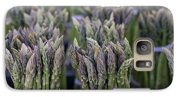 Fresh Asparagus Galaxy Case by Mike  Dawson