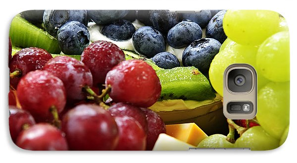 Fresh Fruits And Cheese Galaxy Case by Elena Elisseeva