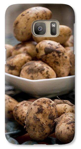 Fresh Potatoes Galaxy S7 Case by Aberration Films Ltd
