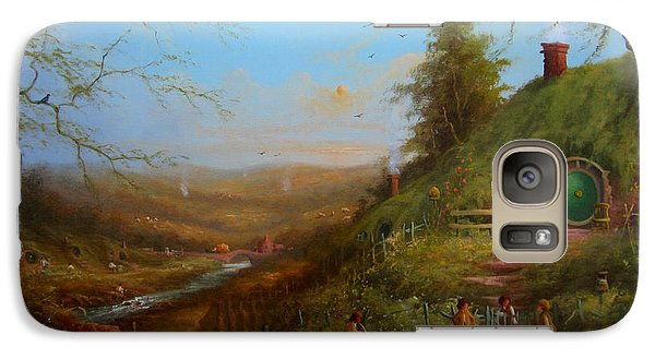Frodo's Inheritance Bag End Galaxy S7 Case by Joe  Gilronan