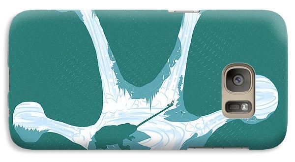 Frog Foot Galaxy Case by Daniel Hapi