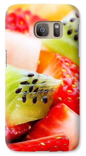 Fruit Salad Macro Galaxy Case by Johan Swanepoel