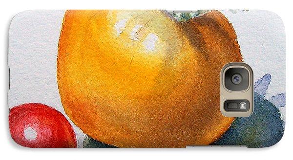 Garden Tomatoes Galaxy Case by Irina Sztukowski
