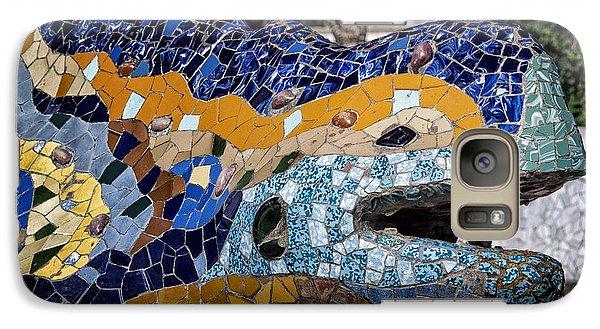 Gaudi Dragon Galaxy Case by Joan Carroll