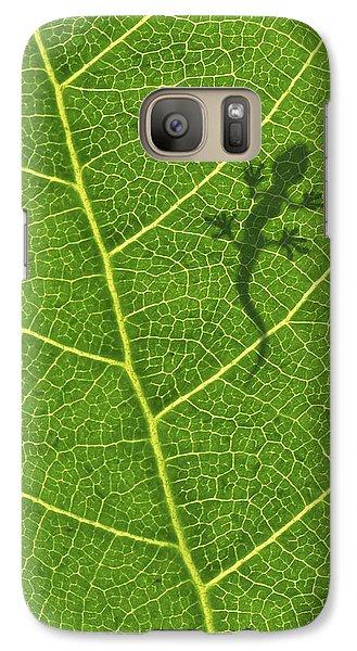 Gecko Galaxy S7 Case by Aged Pixel