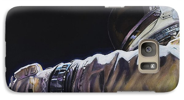 Gemini Xi - Into The Void Galaxy S7 Case by Simon Kregar
