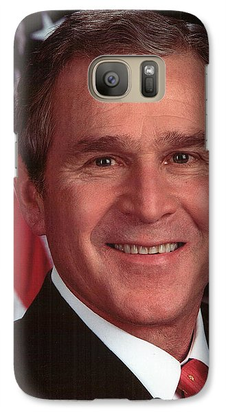 George W Bush Galaxy S7 Case by Official Gov Files