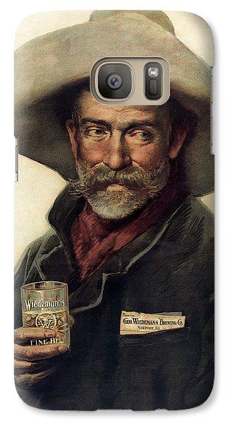 George Wiedemann's Brewing Company C. 1900 Galaxy S7 Case by Daniel Hagerman
