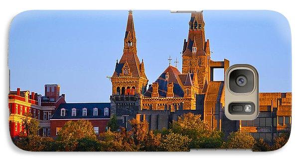 Georgetown University Galaxy Case by Mitch Cat