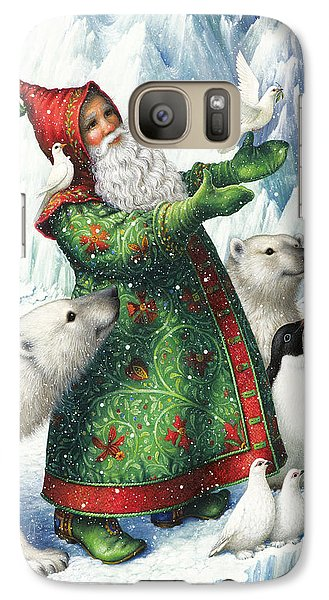 Gift Of Peace Galaxy Case by Lynn Bywaters
