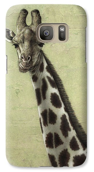 Giraffe Galaxy Case by James W Johnson