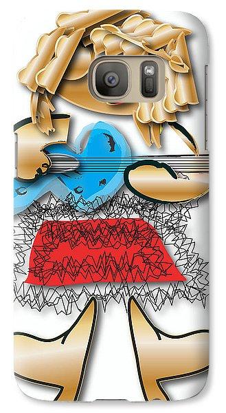 Girl Rocker 6 String Guitar Galaxy Case by Marvin Blaine