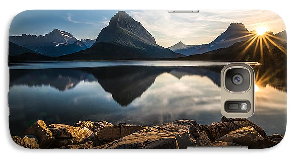 Glacier National Park Galaxy S7 Case by Larry Marshall