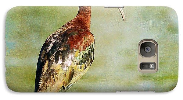 Glossy Ibis Galaxy S7 Case by Fraida Gutovich