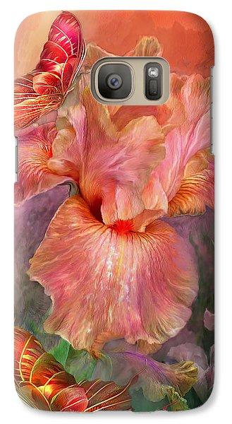 Goddess Of Spring Galaxy S7 Case by Carol Cavalaris
