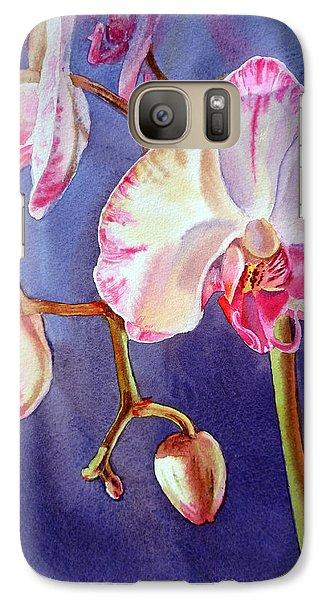 Gorgeous Orchid Galaxy S7 Case by Irina Sztukowski