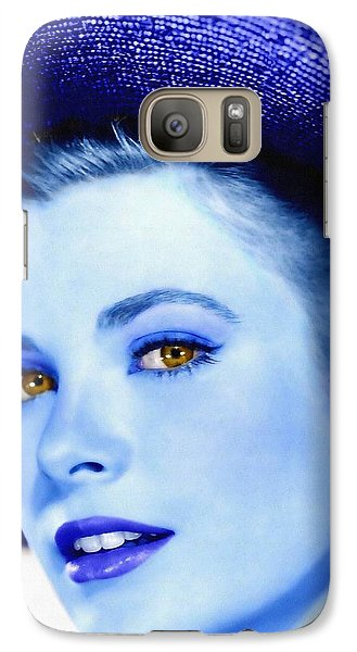 Grace Kelly Galaxy Case by Art Cinema Gallery